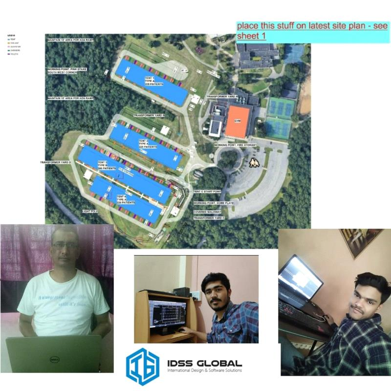 Covid 19_Temporary Tent Hospital_IDSS Global_Work from Home
