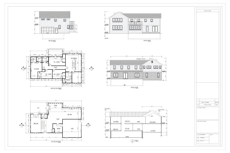 Architectural project of our Maryland Client